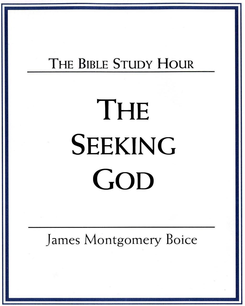 The Seeking God (mp3 Disc)