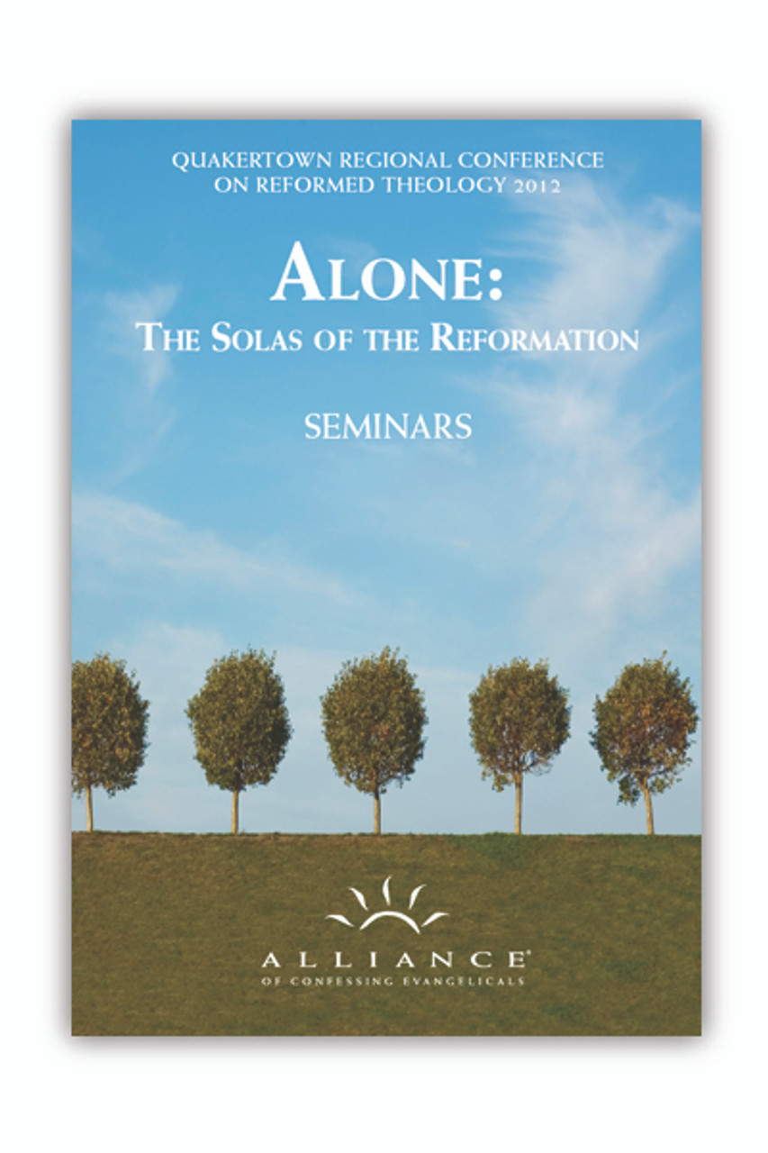 Alone: The Solas of the Reformation (QCRT12)(mp3 Disc)