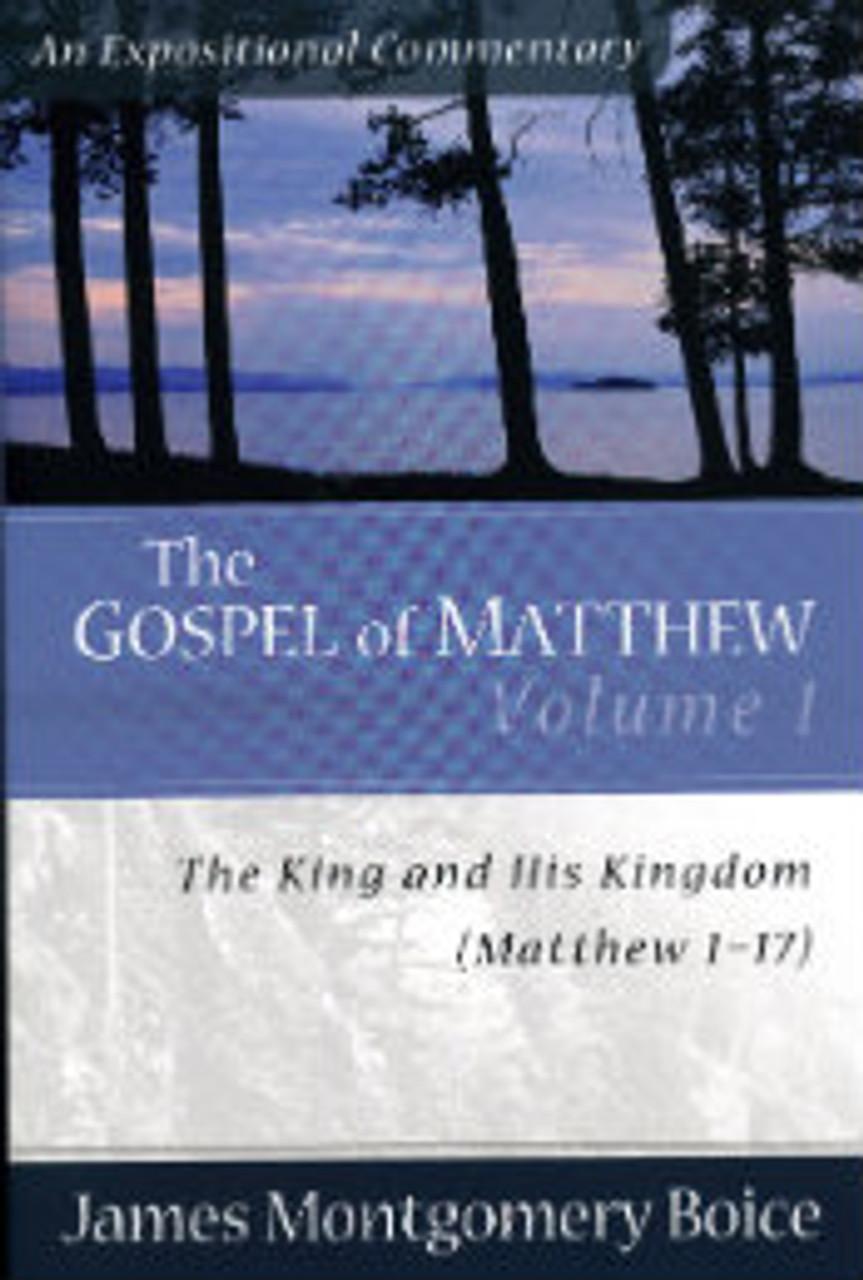 The Gospel of Matthew, Volume 1: Matthew 1-17 (Paperback)