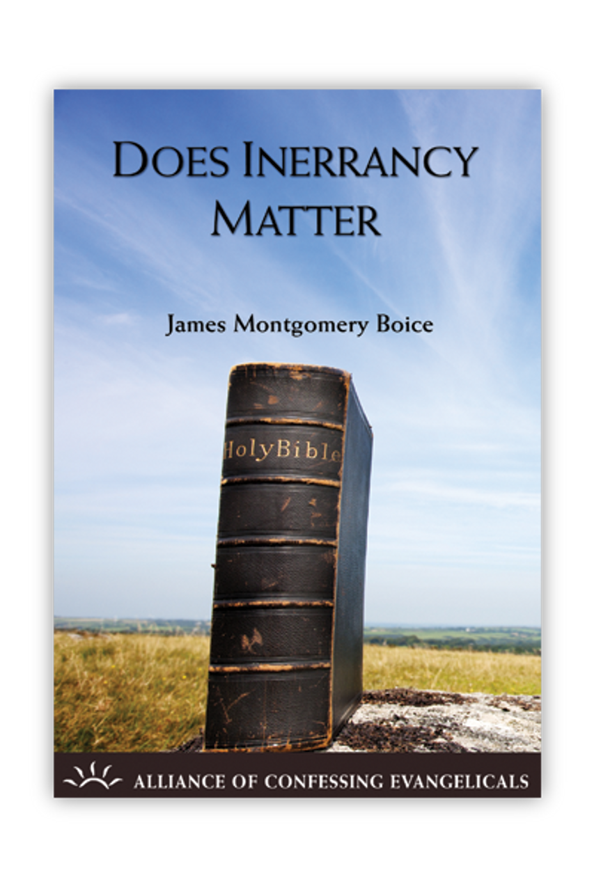 Does Inerrancy Matter? (Booklet)