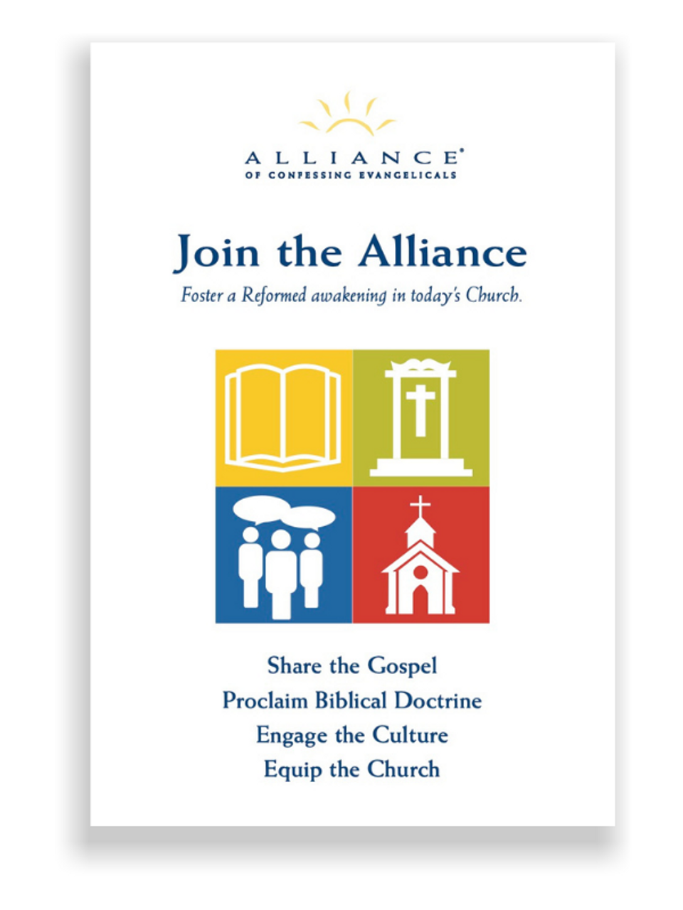 Join the Alliance (Booklet)