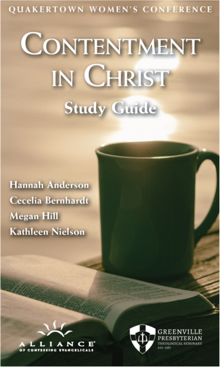 Contentment in Christ Study Guide (PDF Download)
