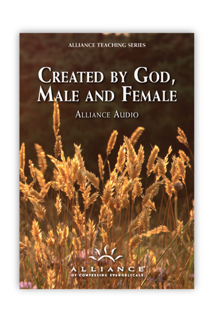 Created by God, Male and Female (mp3 Disc)