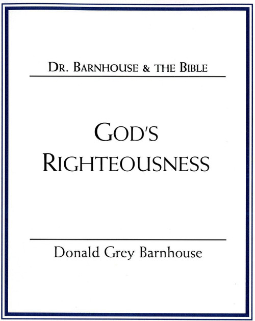 God's Righteousness (mp3 Disc)