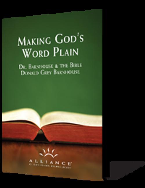 Making God's Word Plain Anthology (mp3 Disc)