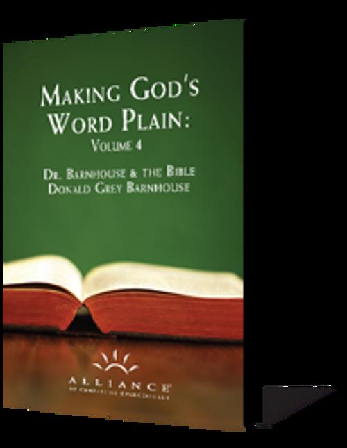 Making God's Word Plain, Volume 4 (CD Set)