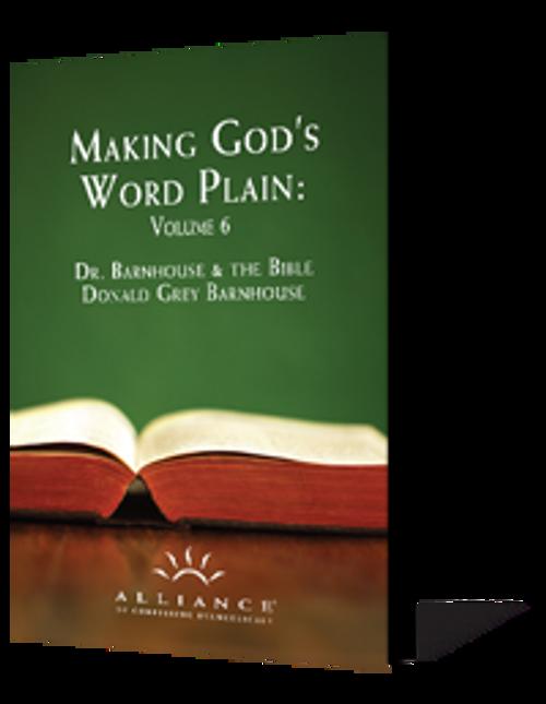 Making God's Word Plain, Volume 6 (CD Set)