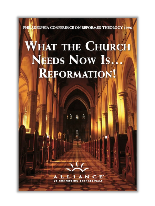 What the Church Needs Now Is...Reformation! PCRT 1996 (mp3 Disc)