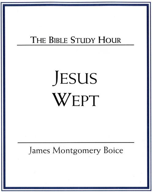 Jesus Wept (mp3 Disc)