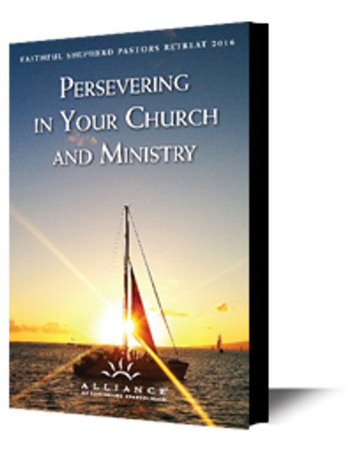 Persevering in Your Church and Ministry 2016 (mp3 Disc)