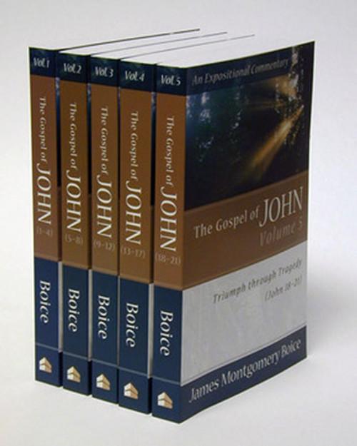 The Gospel of John, 5 Volume Set (Paperback)