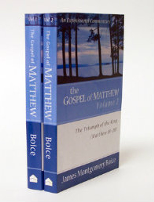 The Gospel of Matthew, 2 Volume Set (Paperback)