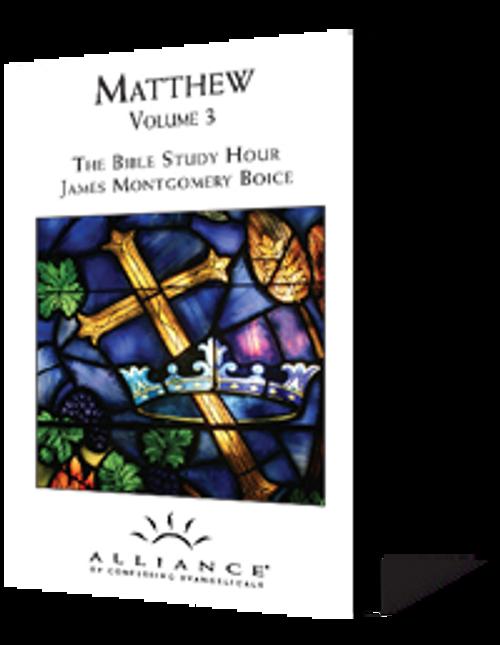 Matthew, Volume 3 (CD Set)