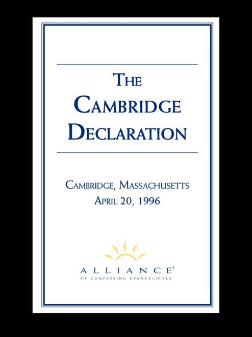 Cambridge Declaration (pdf download)