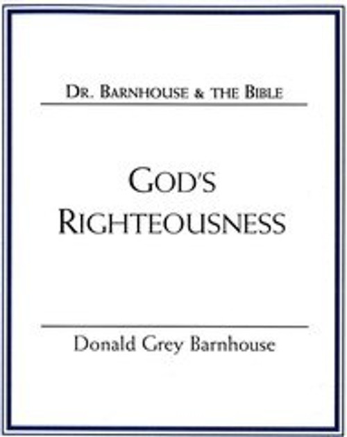 God's Righteousness (mp3 Download Set)