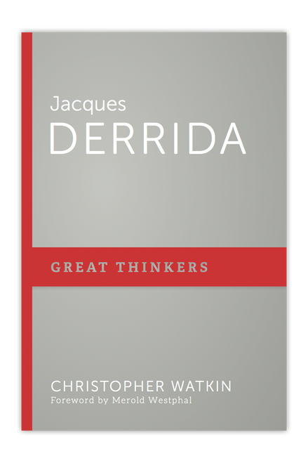 Jacques Derrida (Great Thinkers)(Paperback)