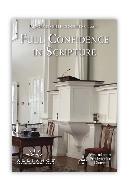 Full Confidence in Scripture  (MP3 Disc)