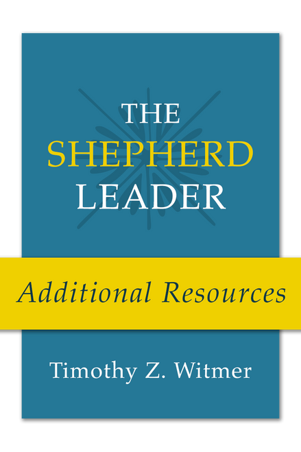 The Shepherd Leader: Additional Resources (PDF Download)