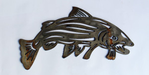 Fish Metal Cutout Sign