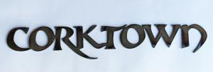Corktown Metal Cutout Sign