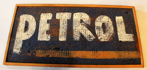 Petrol Sign