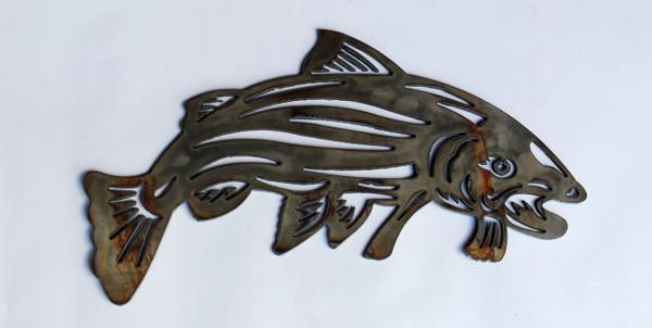 Fish Metal Cutout Sign