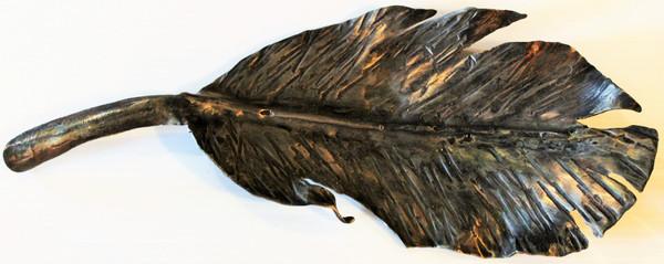 Hand-hammered Artisan Leaf