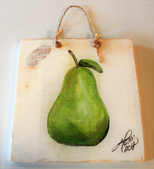 Pear Sign