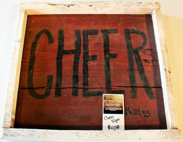 Cheer Sign