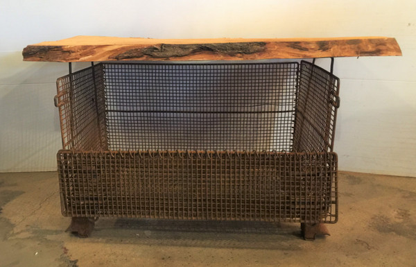 Wire Mesh Coffee Table