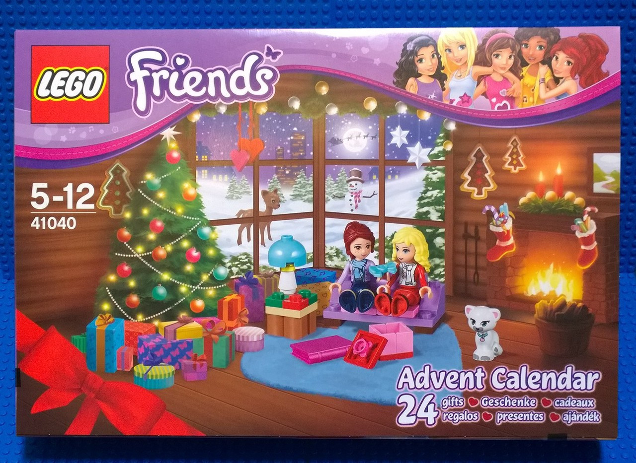 Weihnachtskalender Lego Friends.Lego Friends Adventskalender 41102
