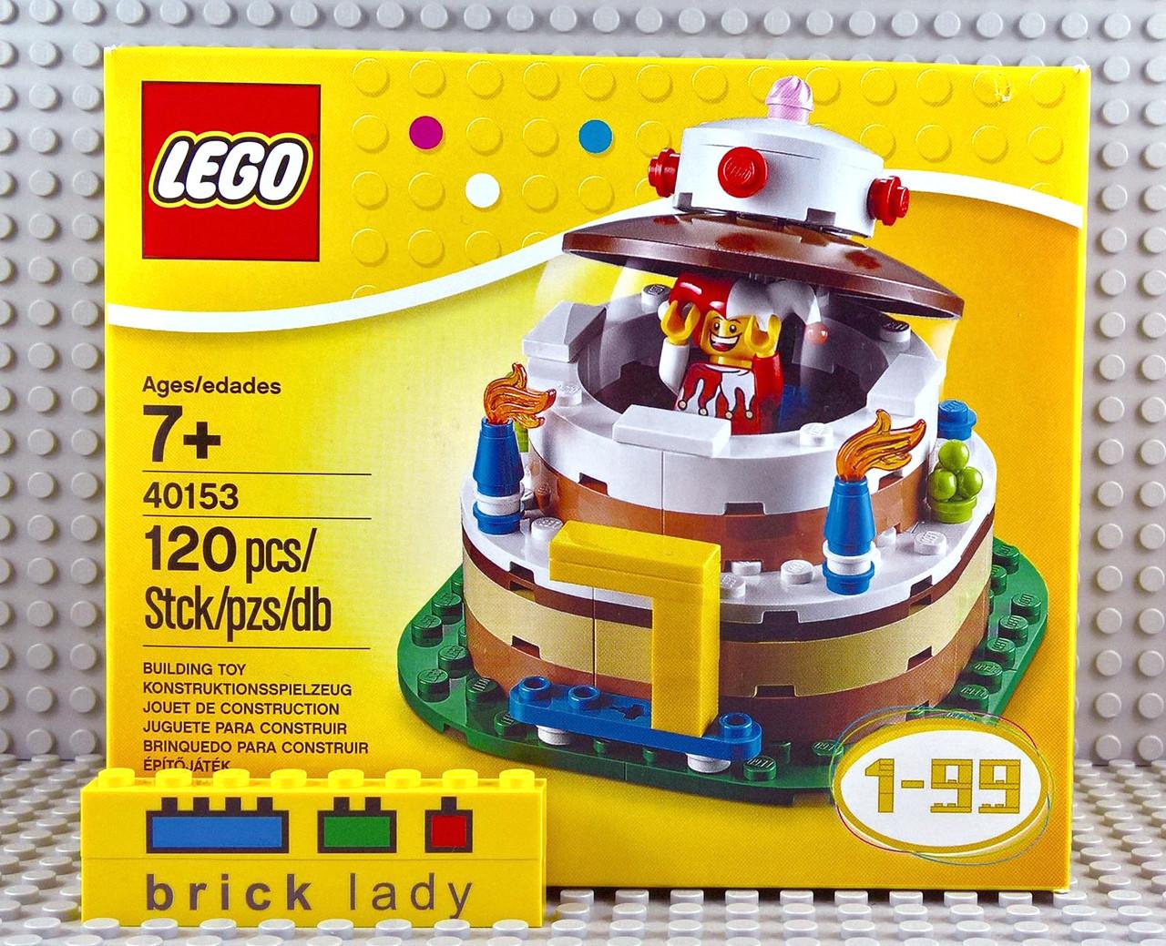 40153 LEGOR Seasonal Birthday Table Decoration