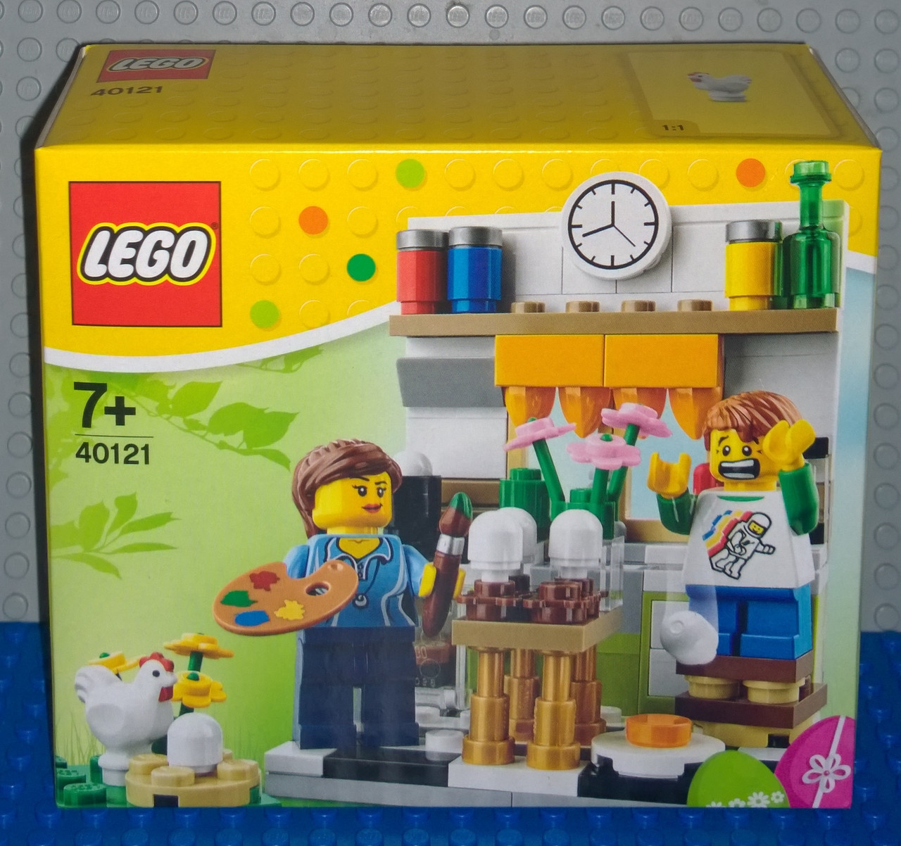 40121 Lego Painting Easter Eggs Brick Lady
