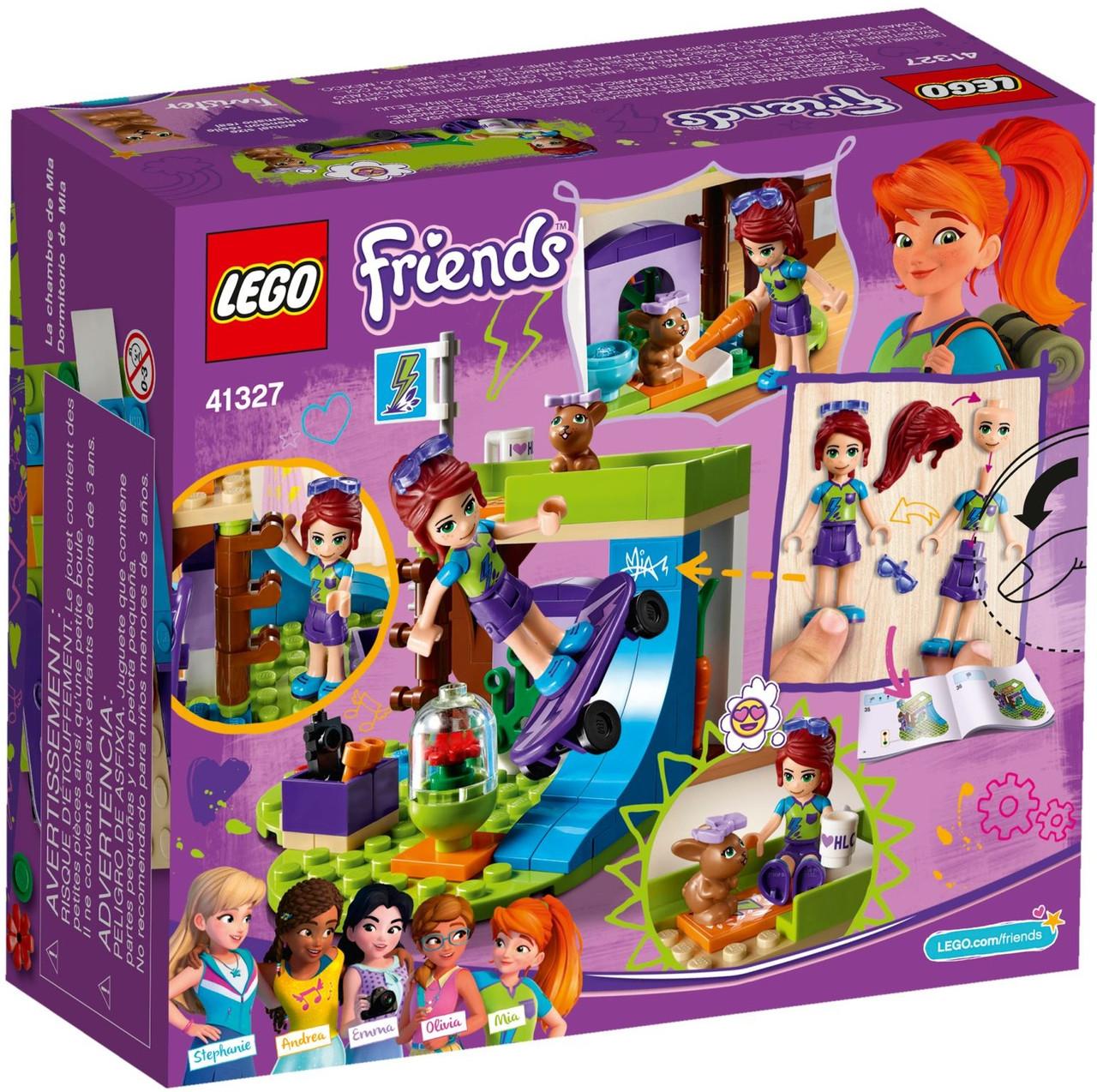 41327 Lego Friends Mia S Bedroom Brick Lady