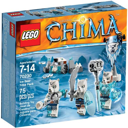 70230 LEGO® Chima Ice Bear Tribe Pack