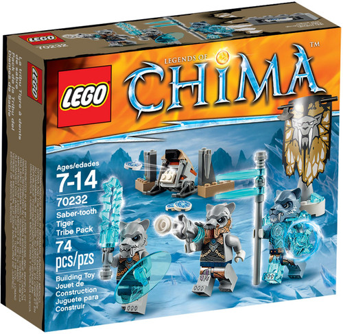 70232 LEGO® Chima Saber Tooth Tiger Tribe Pack
