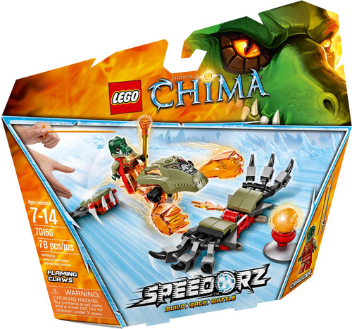70150 LEGO® Chima Flaming Claws