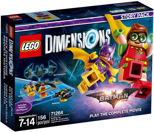 71264 LEGO® Dimensions The LEGO Batman Movie: Play the Complete Movie