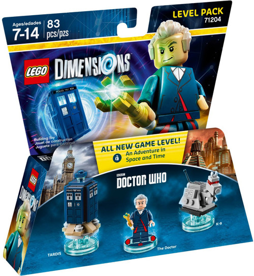 71204 LEGO® Dimensions Doctor Who Level Pack