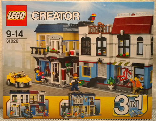 LEGO®  CREATOR Bike Shop and Cafe