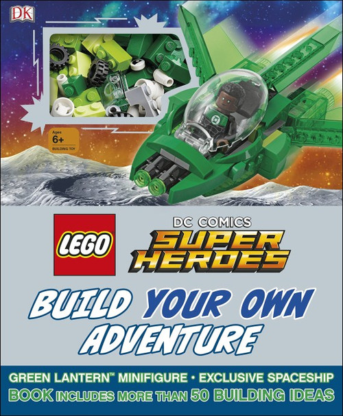 9781465460899 LEGO® DC Super Heroes™ Build Your Own Adventure book