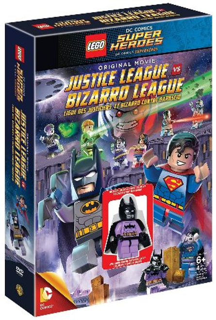 3000062305 LEGO® DC Super Heroes® Justice League vs Bizarro League with Minifigure DVD