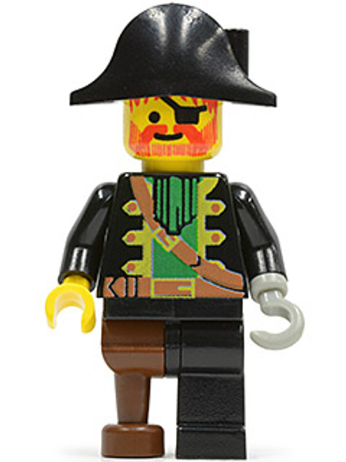 pi002 LEGO® Captain Red Beard (wrong hat)
