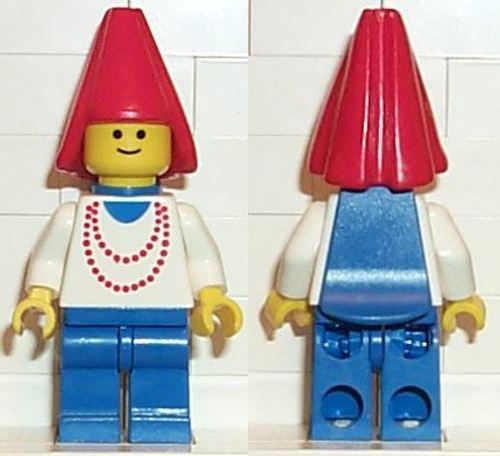 cas095 LEGO® Maiden with Necklace (missing cape)