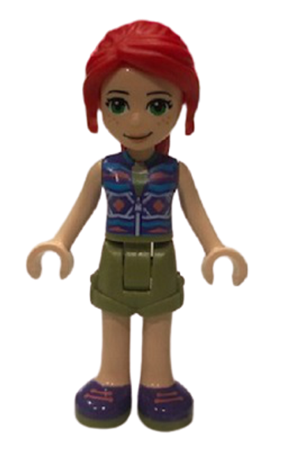 frnd377 LEGO® Friends Mia, Olive Green Shorts