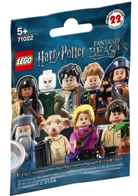 71022 LEGO®  Minifigures Harry Potter and Fantastic Beasts Series 1