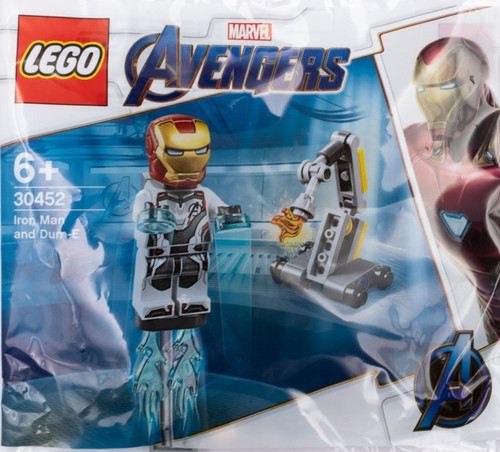 30452 LEGO® Marvel Iron Man and Dum-E polybag