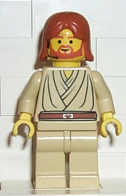 SW0055 LEGO® Obi-Wan Kenobi (Dark Orange Hair and Headset)