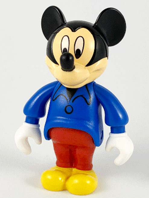 33254B LEGO® Mickey Mouse Figure with Blue Shirt, Red Pants (no cap)