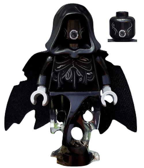 HP155 LEGO® Dementor, Black with Black Cape